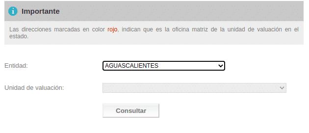 SOLICITAR EL AVALÚO